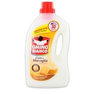 Omino Bianco Υγρό Πλυντηρίου Μασσαλίας 30 Μεζούρες 1+1 Δώρο