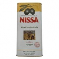 NISSA  Παρθένο Ελαιόλαδο 4 lt