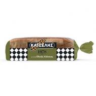 Κατσέλης Ψωμί Τόστ  Ολικής Άλεσης 720 gr