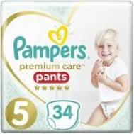 Pampers Premium care Pants  No 5  34Τεμαχια