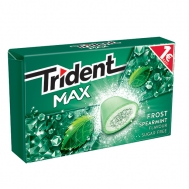 Trident  Max Frost  Spearmint 20 gr