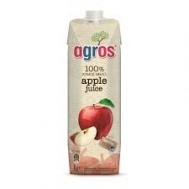 Agros Φυσικός Χυμός Μήλο 1 lt