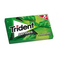 Trident Senses Τσίχλα  Δυοσμος Χωρίς Ζάχαρη 27 gr