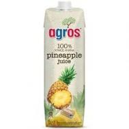 Agros Φυσικός Χυμός Ανανάς 1 lt