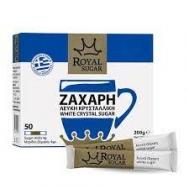 Royal Ζάχαρη Λευκή Sticks 4x50 gr