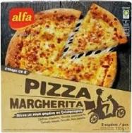 Αλφα Πίτσα Μαργαρίτα 2X 365 gr