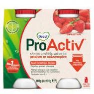 Becel Pro-Activ  Ρόφημα Γιαουρτιού Φράουλα  4Χ 100 ml