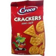 Croco Crackers Salt Αλμυρά Μπισκότα 80 gr