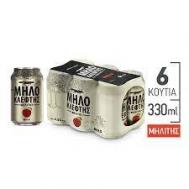 Μηλοκλέφτης 6Χ330 ml
