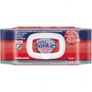 Wet Hankies Antibacterial Extra Safe Αντιβακτηριδιακά Μαντηλάκια Καθαρισμού 72 Τεμάχια