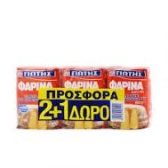 Γιώτης Αλεύρι Φαρίνα Κόκκινη 3x500 gr