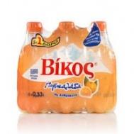 Βίκος Πορτοκαλάδα Χωρίς Ανθρακικό 6x330 ml 5+1 Δώρο