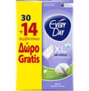 Everyday All Cotton Extra Large Σερβιετάκια 30 Τεμάχια