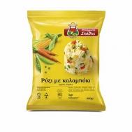 Μπάρμπα Στάθης Ρύζι Με Καλαμπόκι 600 gr