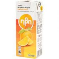 Ηβη Φυσικός Χυμός Πορτοκάλι 250 gr