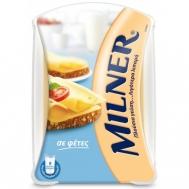 Milner Ημίσκληρο Τυρί σε Φέτες  300 gr + Δώρο  Milner Ημίσκληρο Τυρί σε Φέτες  175 gr