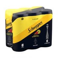 Schweppes Σόδα  Lemon 6x330 ml