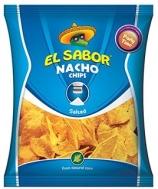 El Sabor Nacho Chips  Salted 100  gr