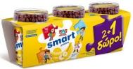 Δέλτα Smart Επιδόρπιο Γιαούρτι  Μπάνάνα 145gr  2+1 Δώρο