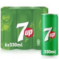 7UP 6x330 ml