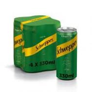 Schweppes Ginger 4x330 ml