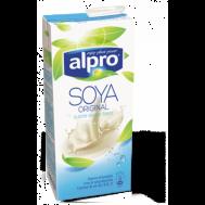 Alpro Γάλα Ρόφημα Σόγιας Χωρίς Ζαχαρη 1lt