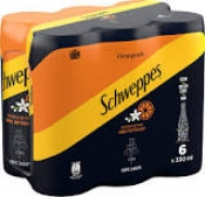 Schweppes Σόδα Πορτοκάλι 6x330 ml