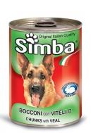 Simba Σκυλοτροφή με Κοτόπουλο 400 gr