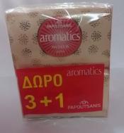 Papoutsanis Aromatics Κεδρος & Κεχριμπάρι 4x125 gr 3+1 Δώρο