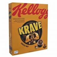 Kellogg's  Δημητριακά Krave Choco Nut 375gr