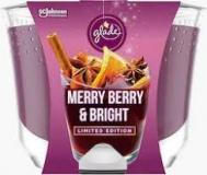 Glade Merry Berry Κερί    224 ml