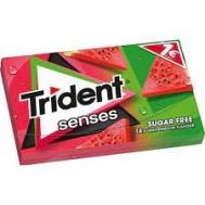 Trident Senses Τσίχλα  Καρπουζι Χωρίς Ζάχαρη 27 gr