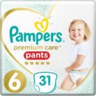 Pampers Premium care Pants  No 6  31 Τεμαχια