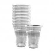 Ποτήρια μιας Χρήσης Διάφανο 330 ml 50 Τεμάχια