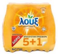 Λουξ Πορτοκαλάδα 6 Χ 330 ml