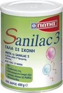 Γιώτης Sanilac no 3 Γάλα Σε Σκόνη 400 gr