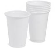 Ποτήρια μιας Χρήσης 502  Λευκό 100 Τεμάχια