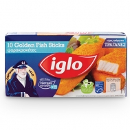 Iglo Fish Sticks Τραγανές κροκέτες Ψαριών 300 gr