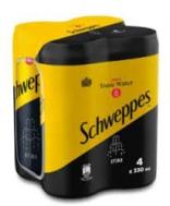 Schweppes Τόνικ 4x330 ml